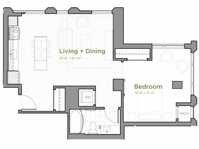 One Bedroom - a01
