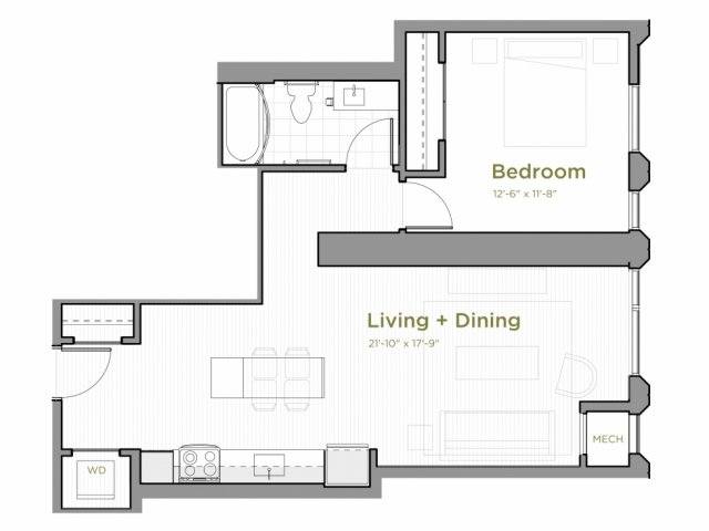One Bedroom - a02