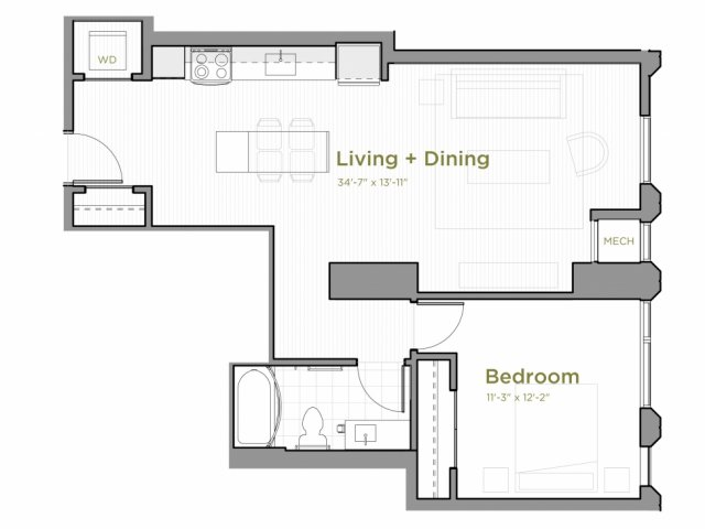 One Bedroom - a03