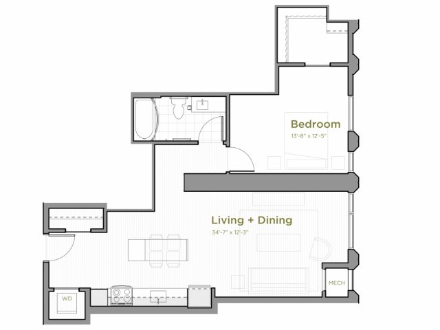 One Bedroom - a05