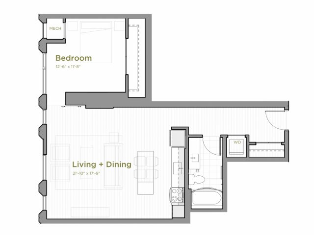 One Bedroom - a06