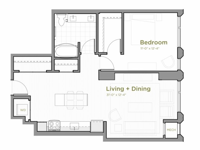 One Bedroom - a07