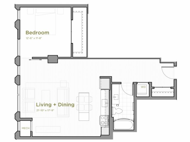 One Bedroom - a08