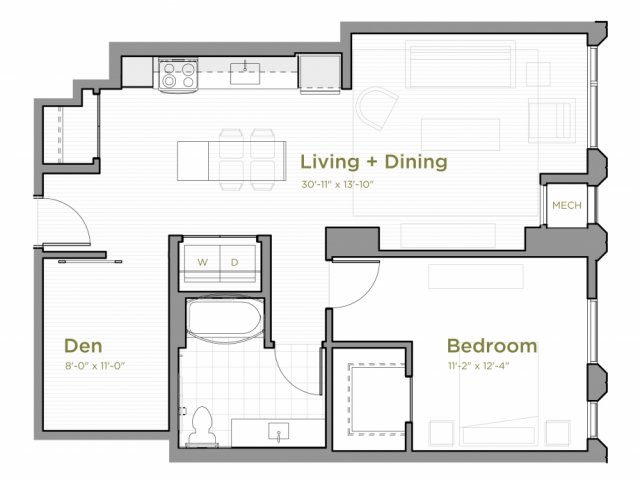 One Bedroom - a10
