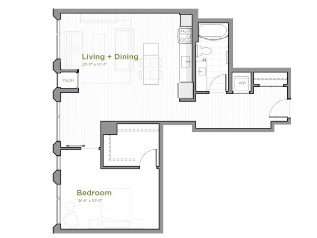One Bedroom - a11