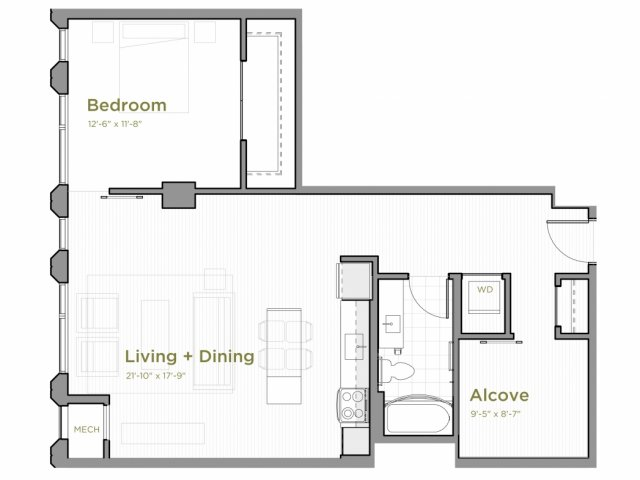 One Bedroom - a12