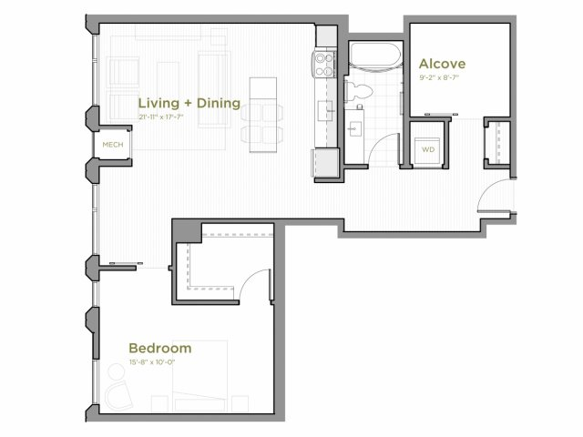 One Bedroom - a13