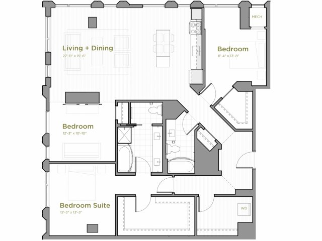 Three Bedroom - c02